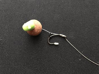 Karpfen Rigs - Blowback Rig No-Knot Knoten