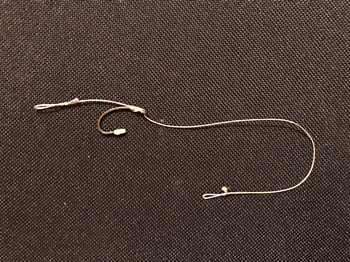 Fertiges No-Knot Rig