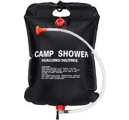 sunshine campingdusche test