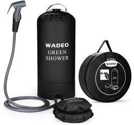 wadeo campingdusche test