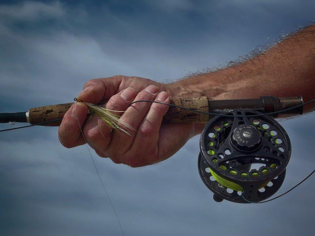 angeln mit fliege