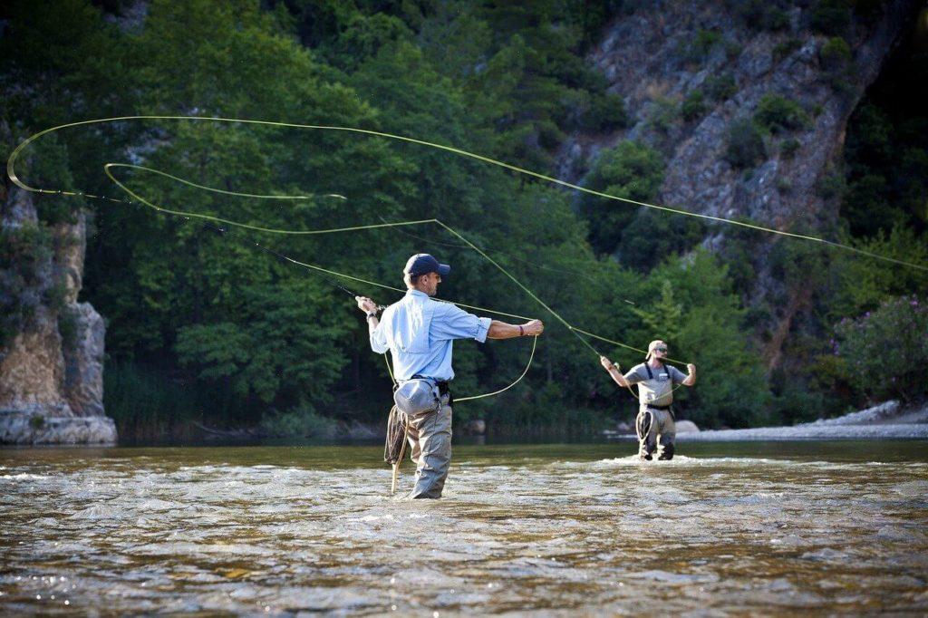 fliegenfischen werfen