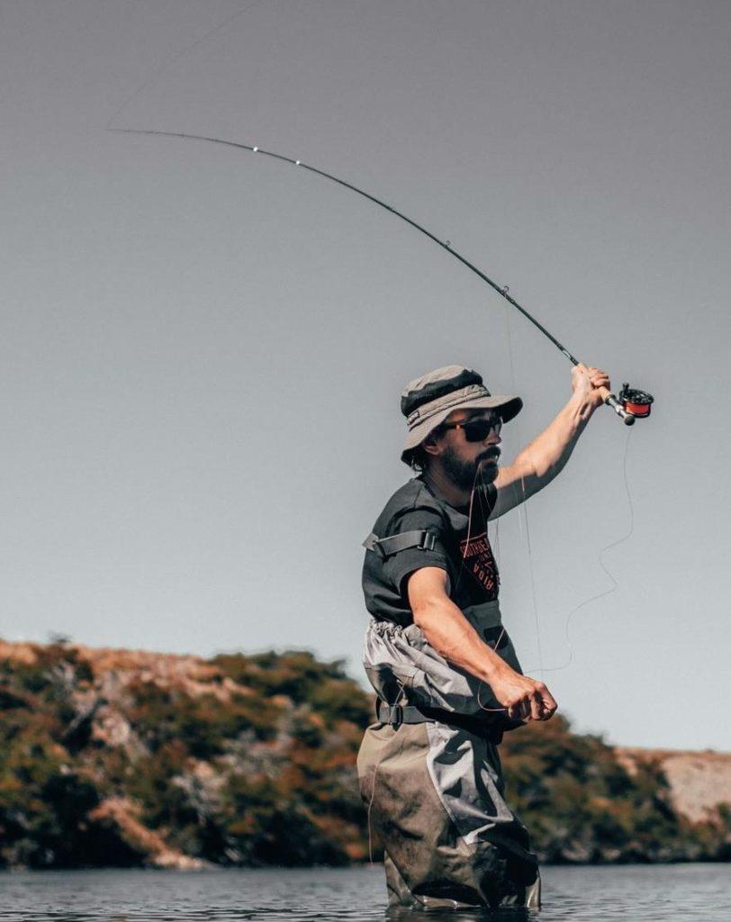 fliegenfischen wurf