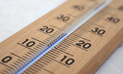 Temperatur beziehungsweiße Thermometer